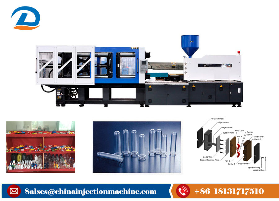 Full Auto Pet Preform Injection Molding Machine