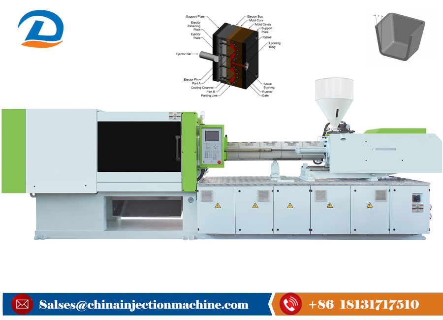 Full Automatic Plastic Injection Molding Machines for Plastic Plug