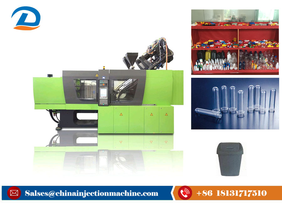 High Response Rate Automatic Plastic Bottle Injection Molding Machine